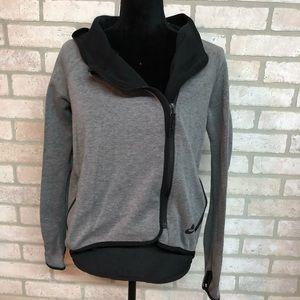 Asymmetrical Zip Nike Hoodie